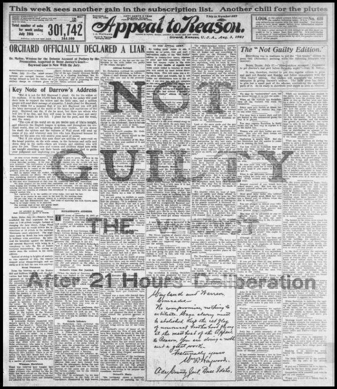 HMP, AtR HY Not Guilty, Aug 3, 1907