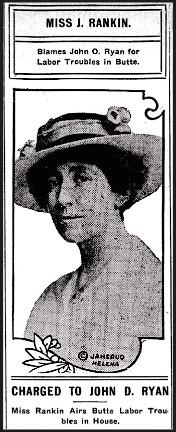 Jeannette Rankin, MN Princeton Union, Aug 9, 1917