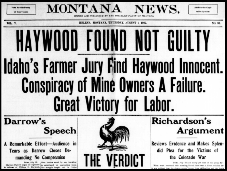 Montana News, Hy Not Guilty, Aug 1, 19107