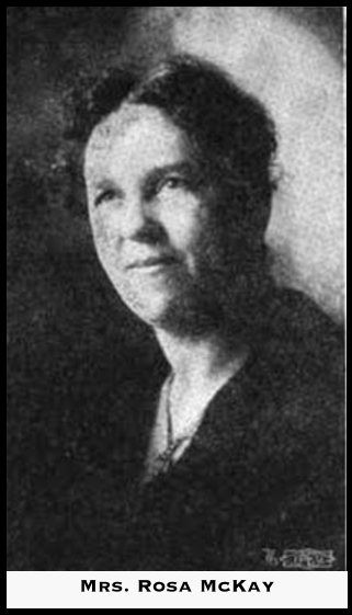 Rosa McKay, WTUL Life and Labor, Nov 1918