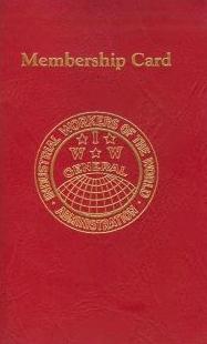 IWW Membership Card