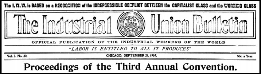 IWWC, IUB, Sept 21, 1907