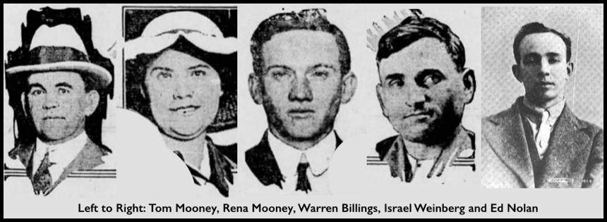 Mooney Tom Rena, Billings Weinberg Nolan, 1916, EN 1917