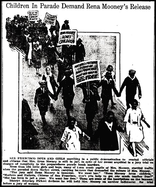 Rena Mooney, Children's Parade, Tacoma Tx p5, Aug 11, 1917
