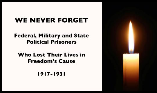 WNF, WWIR, Political Prisoners 1917-1931