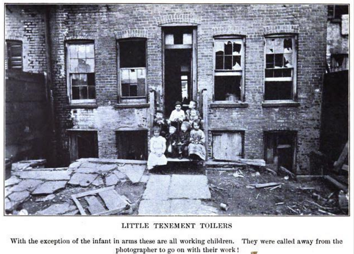 Bitter Cry, Spargo, Little Tenement Toilers, Feb 1906