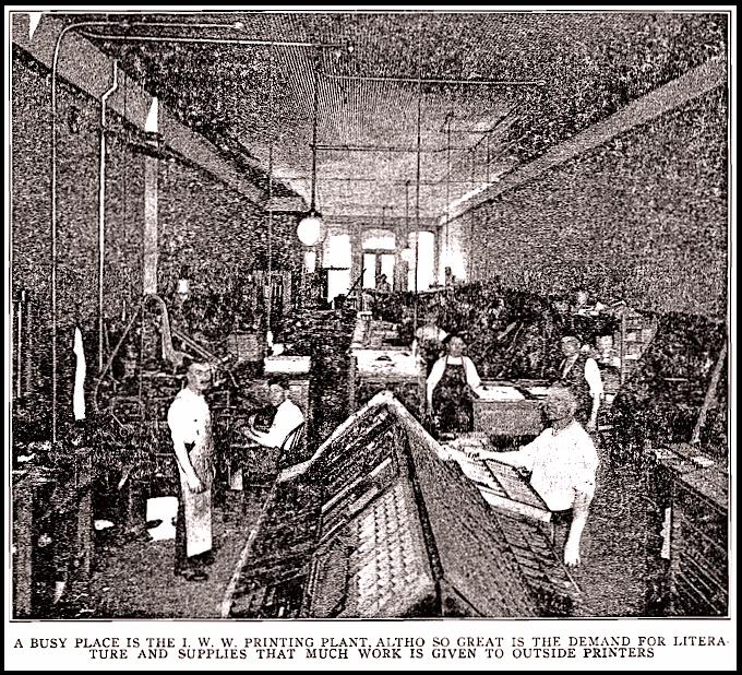 Chg IWW Printing, ISR Oct 1917
