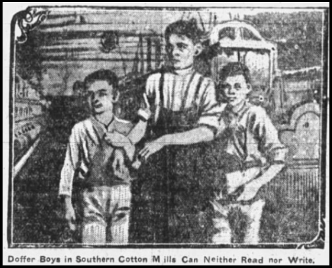 Child Labor in South by G Gardner 2, W-B Ldr p7, Oct 5, 1907