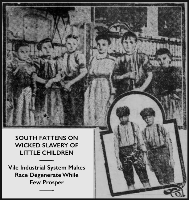 Child Labor in South by G Gardner, Evl Prs IN p4, Oct 9, 1907