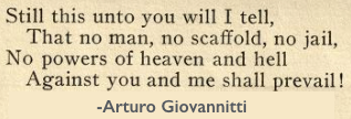 Quote Giovannitti, Prevail