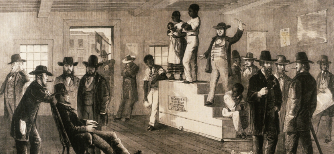 Slavery in America, Virginia Auction, 1861