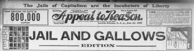 AtR Jail and Gallows Edition, Nov 23, 1907