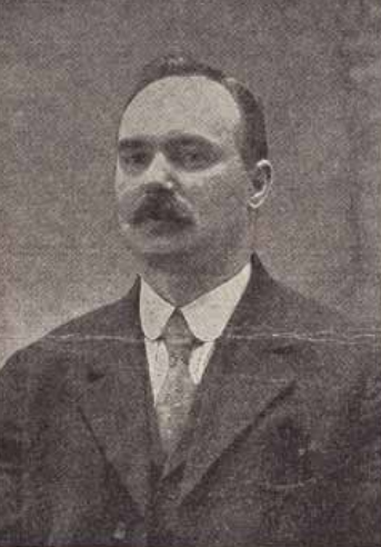 James Connolly, NYC Farewell Dinner, crpd, July 14, 1910