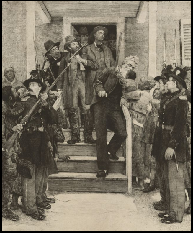 John Brown Last Moments by Thomas Hovenden ab 1885, LOC