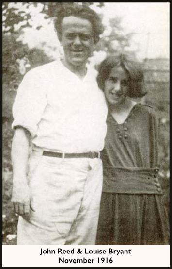 John Reed, Louise Bryant, Spart, Nov 1916