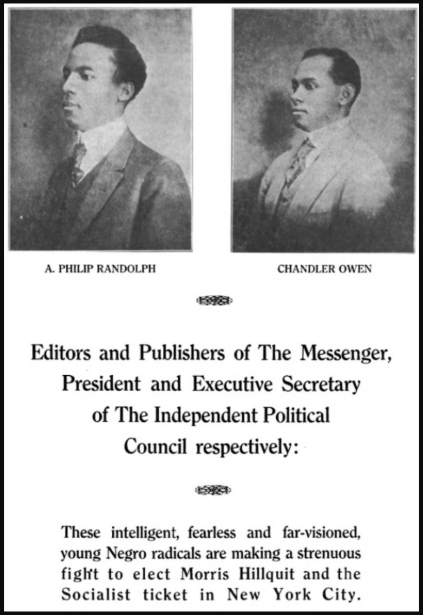Messenger, Randolph and Owen, Nov 1917