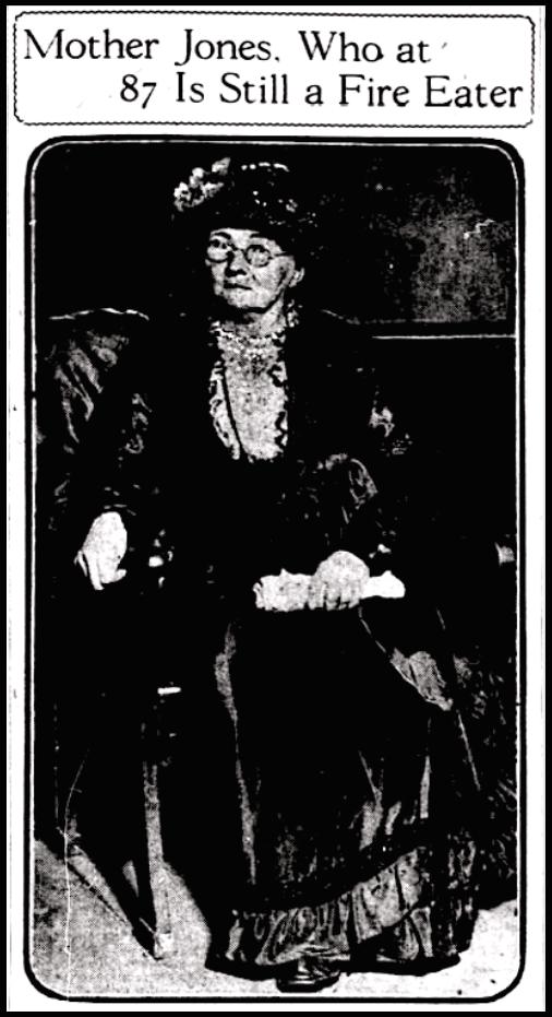 Mother Jones Fire Eater, Lg Crpd, St L Str, Aug 23, 1917