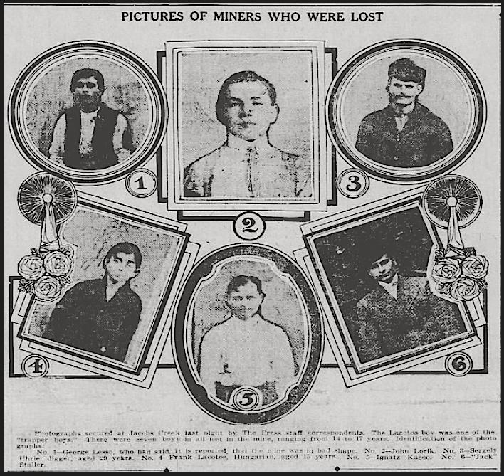 Darr MnDs Miners Lost, Ptt Prs p1, Dec 20, 1907