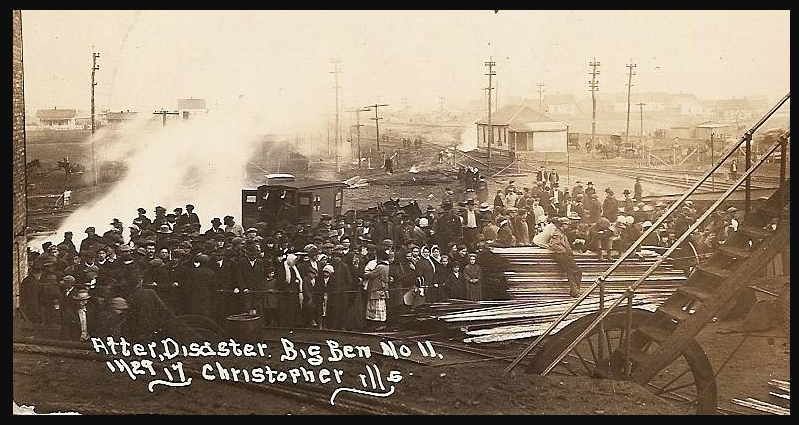 Old Ben Mine Disaster, Christopher IL, Nov 29, 1917