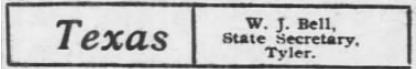 Texas SP Sec Bell, AtR, Nov 2, 1907