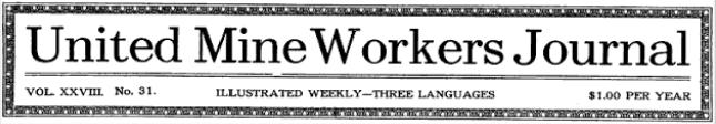 UMWJ, Nov 29, 1917