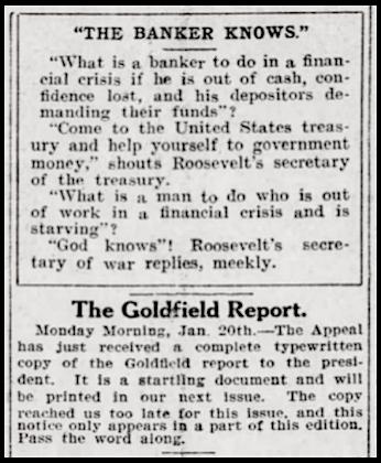 EVD, Roosevelt, Goldfield, AtR, Jan 25, 1908