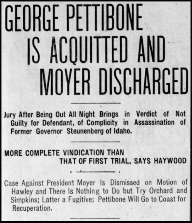 HMP, Pt Acquitted My Discharged, Dly AZ Slv, Jan 8, 1908