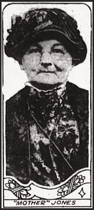 Mother Jones, Ft Wy Jr Gz p3, Dec 17, 1917