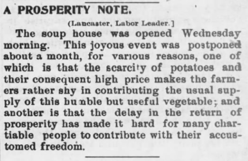 Prosperity Note, AtR -p4, Jan 29, 1898