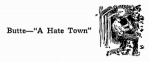 WWIR, IWW Butte Truth, ISR Jan 1918