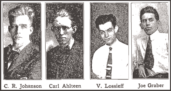 WWIR, IWW Johanson Ahlteen Lossieff Graber, ISR Jan 1918