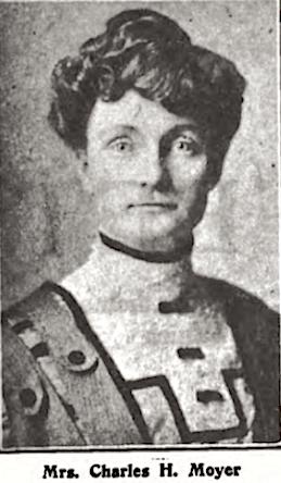 Boise, Mrs Charles H Moyer, Wilshires July 1907