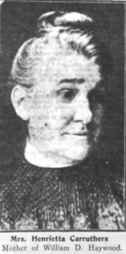 Mrs. Carruthers , Mother of BBH, Wilshires Aug 1907