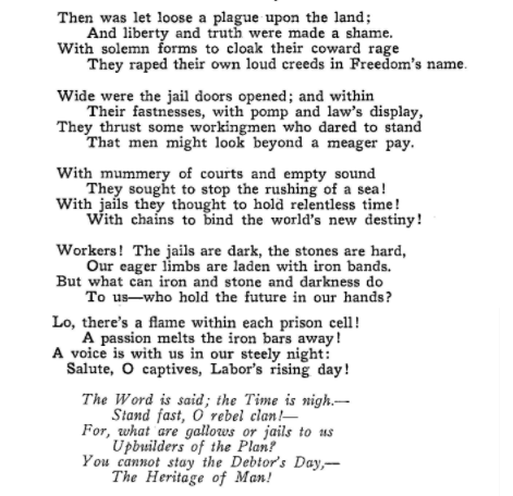 WWIR, Labor in Prison-2, Charles Ashleigh, ISR Feb 1918